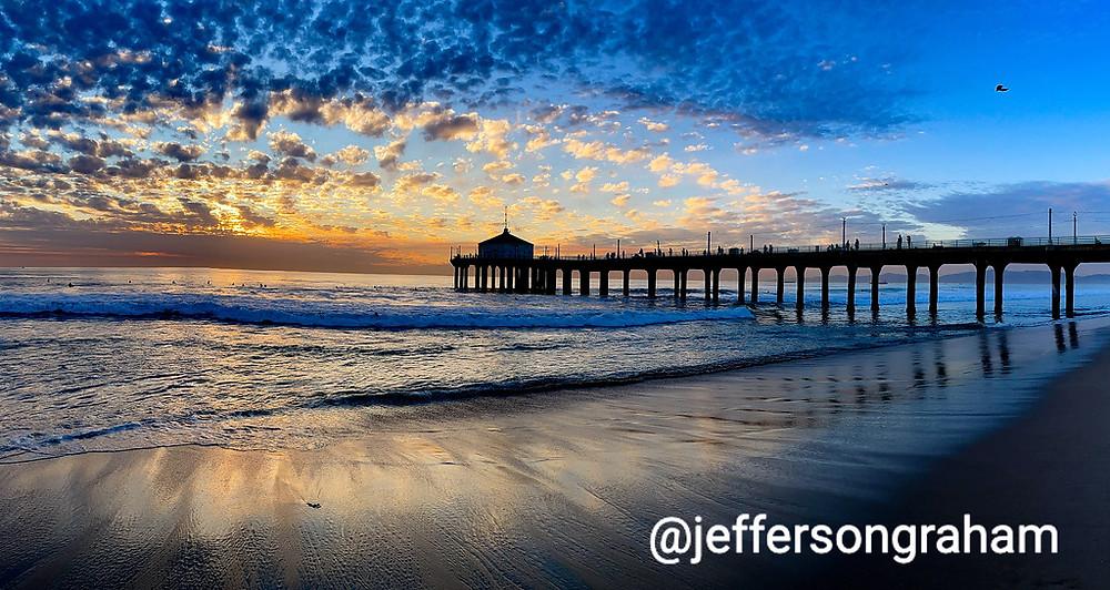 Manhattan Beach sunset