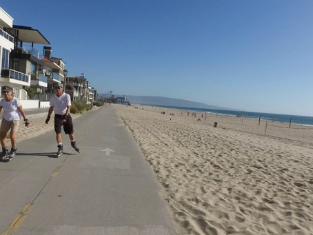 Ride the Manhattan Beach Strand with us
