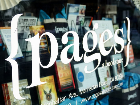 Photowalk: to {pages} a Manhattan Beach bookstore