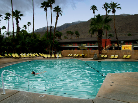 Palm Springs #Photowalk – swimming pools, palm trees and the desert