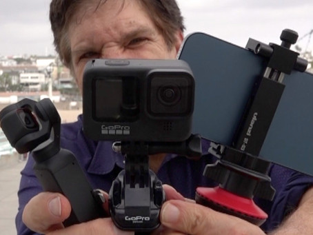 Vlogcam shootout – GoPro Hero 9 vs. DJI Pocket 2 and iPhone 12 Pro