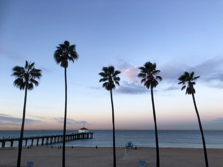 Mornings in Manhattan Beach and Hermosa