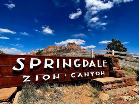 Zion Springdale Photowalk