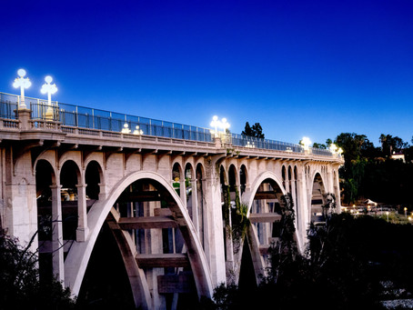 How to photograph Pasadena Colorado Street Bridge