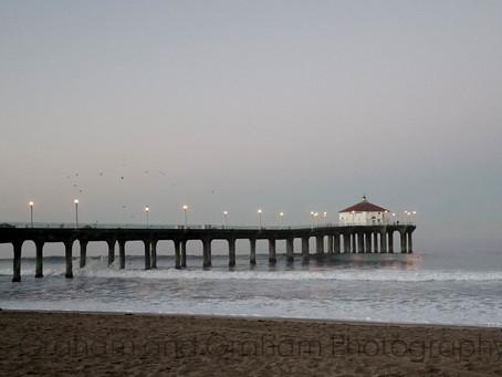Dawn by Manhattan Beach Photographer