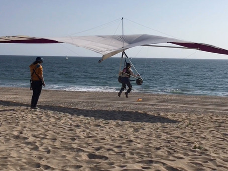 Hang Gliding in El Segundo