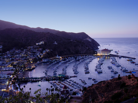 Three spots for a great photo of the Catalina Avalon Harbor
