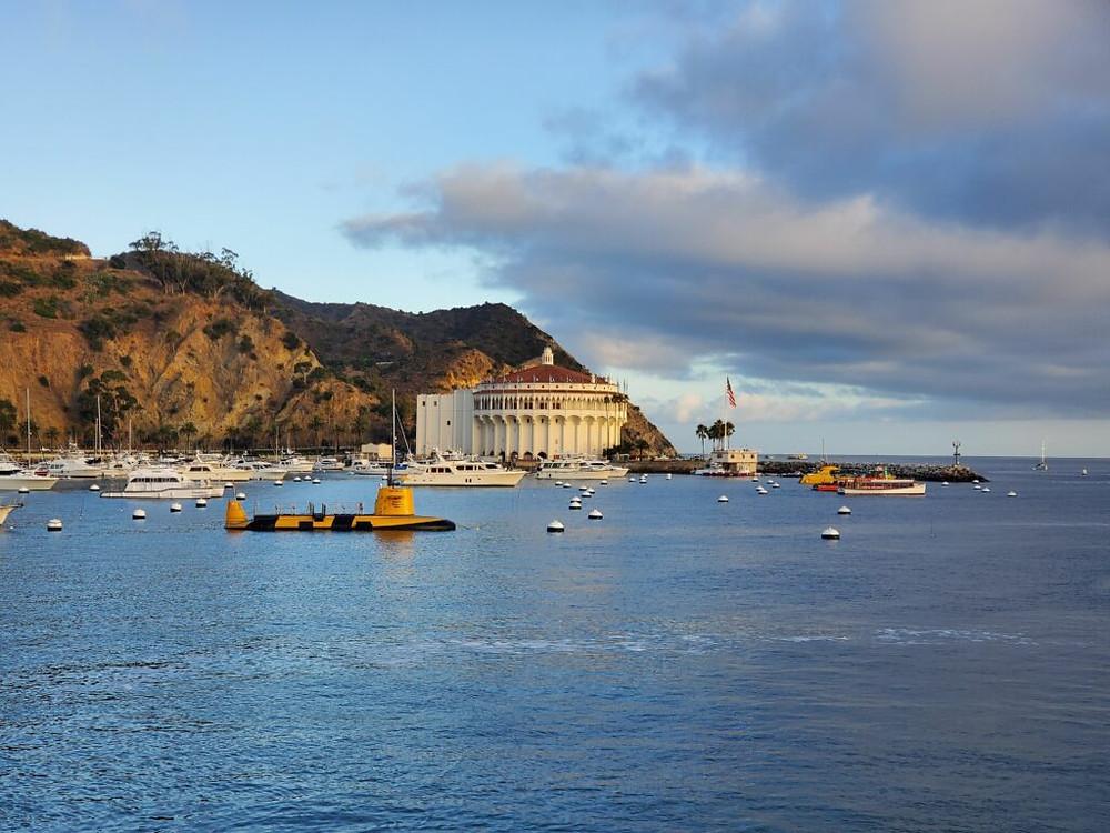 Catalina harbor view
