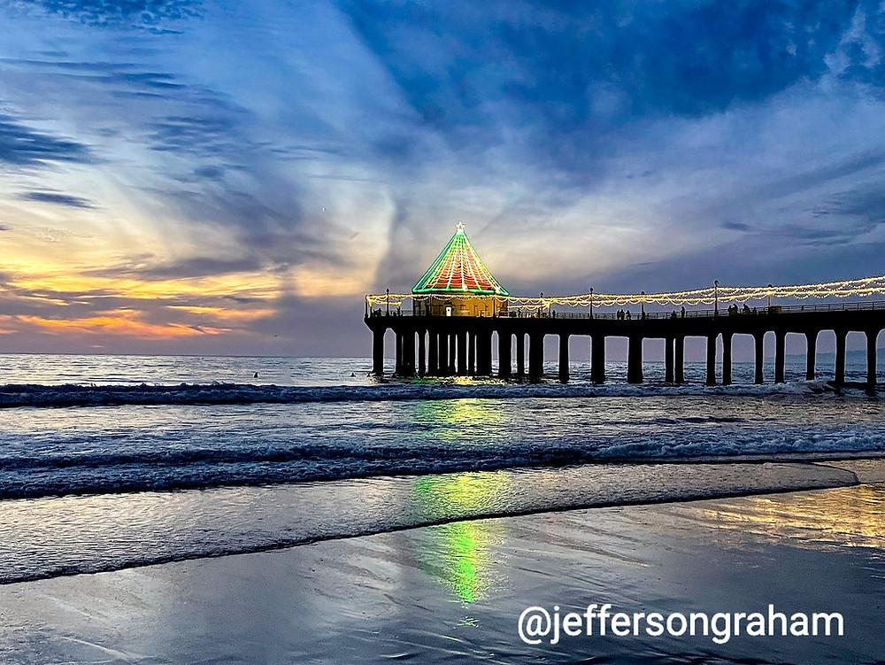 Manhattan Beach Pier sunset