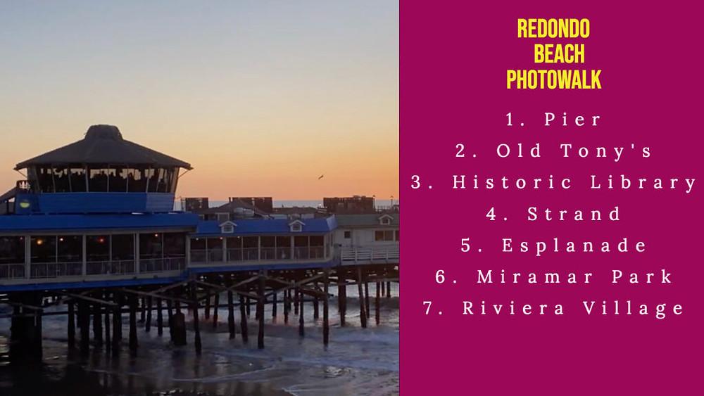 Redondo Beach Photowalk Companion