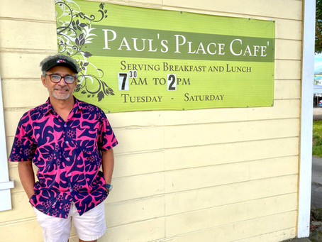 Big Island/best small cafe: Paul's Place