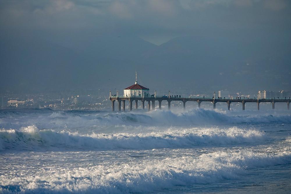 The Manhattan Beach Pier on 12/18/18