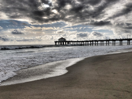 """Just before the rain in Manhattan Beach"" 5/15/2019"