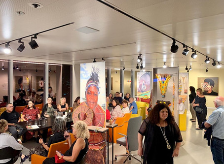 PRESS: Talks at the African Studies Gallery, Tel Aviv