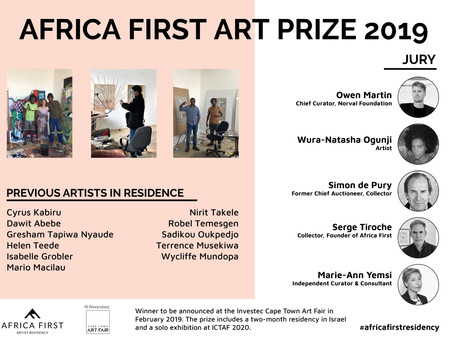 Inaugural 2019 Africa First Art Prize
