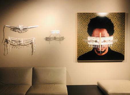 Cyrus Kabiru Artworks on view at the African Studies Gallery, Tel Aviv