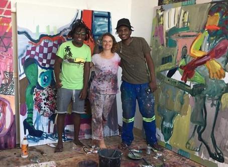 Wycliffe Mundopa, Helen Teede & Gresham Nyaude (Zimbabwe), Jul-Aug 2018