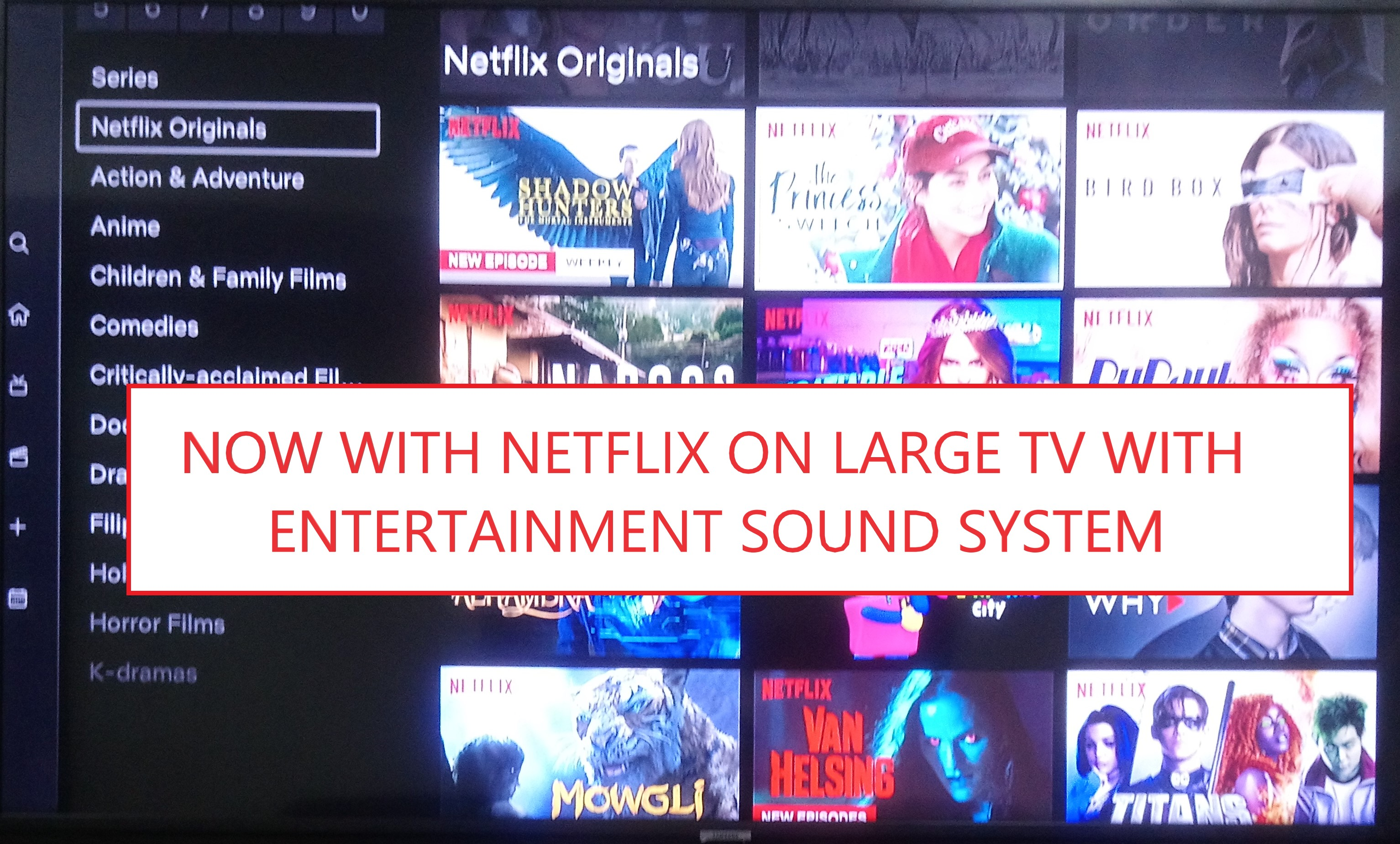 With a Netflix Account PRE_LOADED