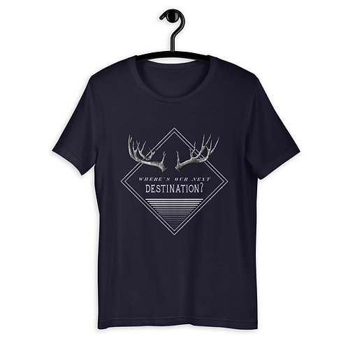 """Shirt """"Next Destination"""" Männer"""