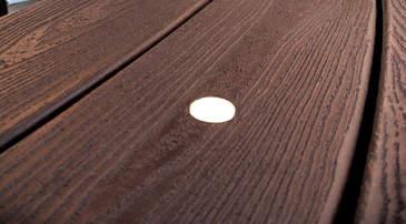 Lampa podłogowa Trex Oświetlenie pokładowe Poziome oświetlenie punktowe tarasu nieoślepiające