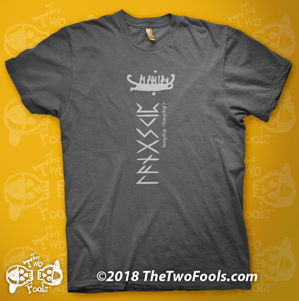 LANGSKIP-rune-black