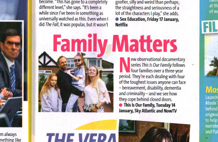 Bella - This is Our Family - TV Week Pic