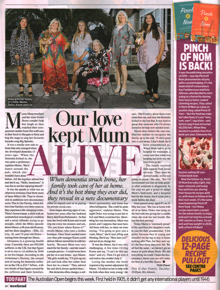 Daily Mail Weekend - This is Our Family