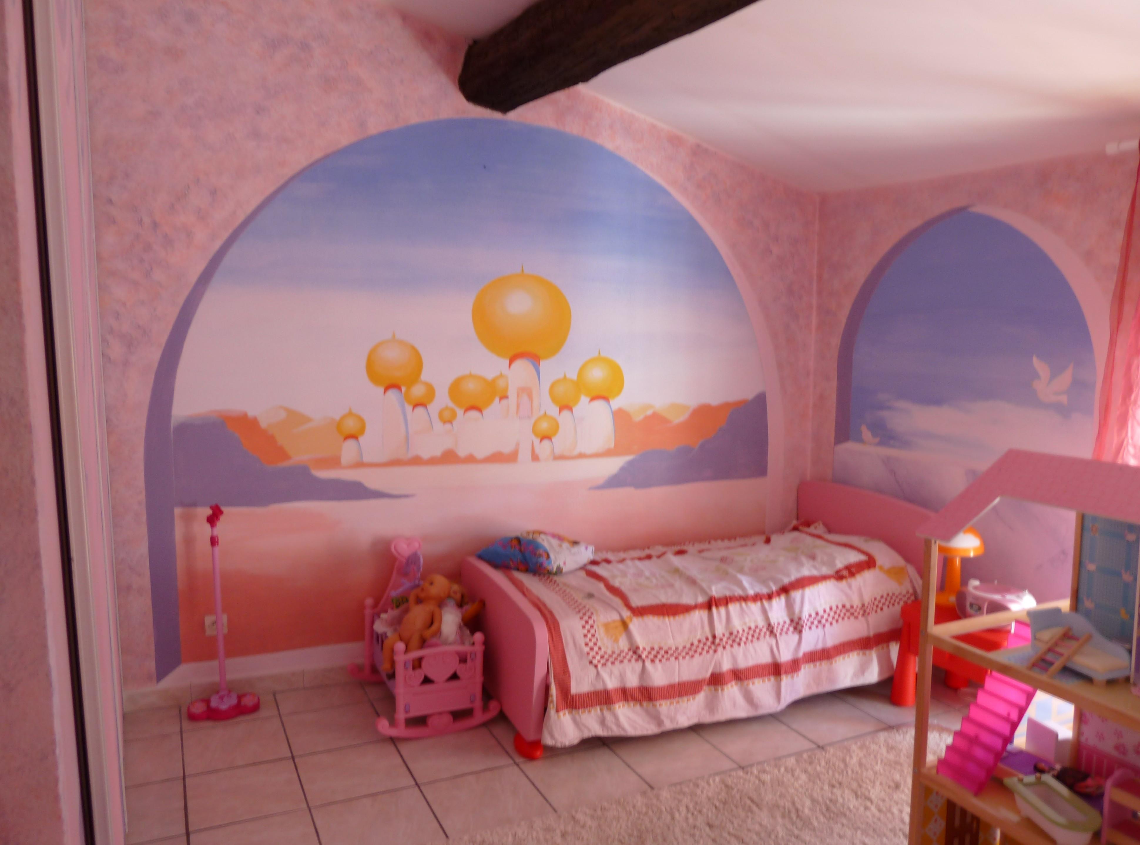 chambre petite fille, Jasmine