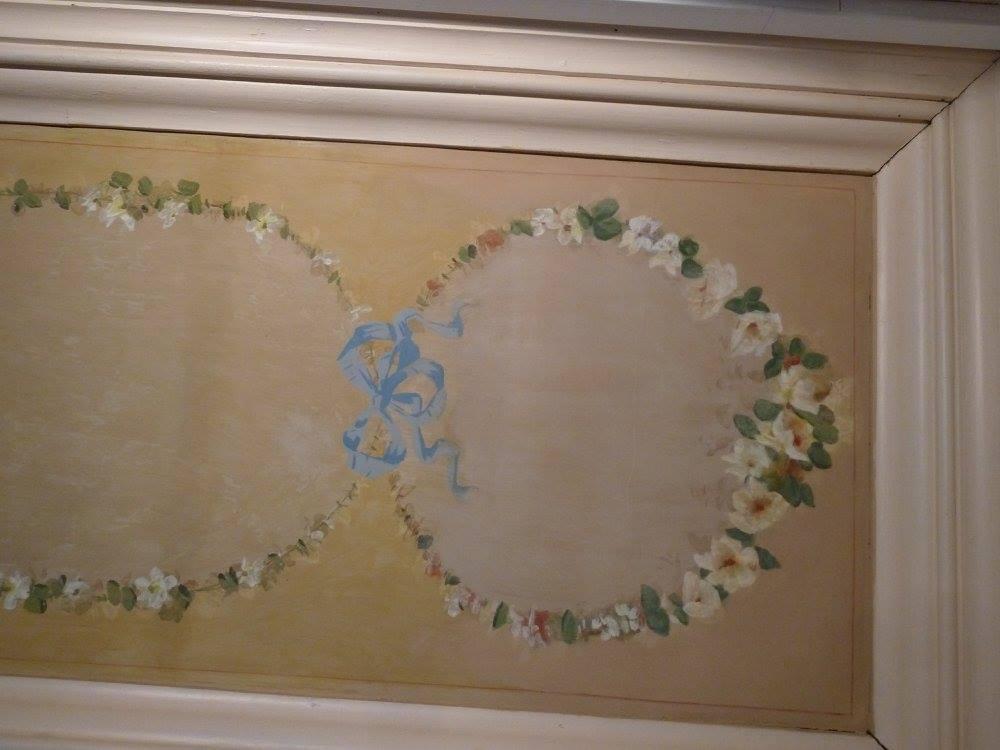 restauration plafond caséine