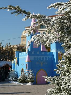 Chateau place de la Liberté Toulon
