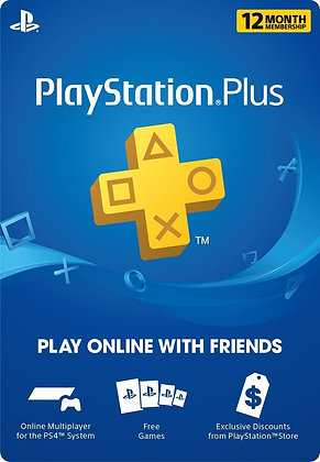 Play Station Plus 12 Meses