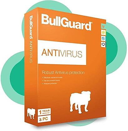 BullGuard Antivirus 3 Dispositivos 1 Año