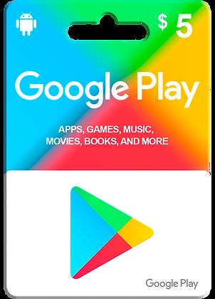 Google Play 5usd