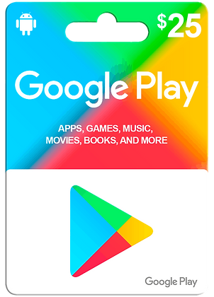 Google Play 25usd