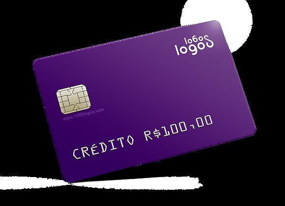Crédito R$100