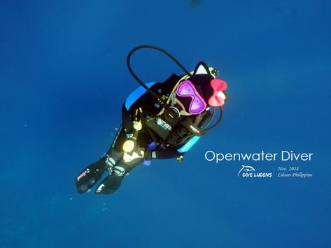 [2018년 11-12월] 오픈워터 교육 안내 - 스쿠버다이빙 입문과정