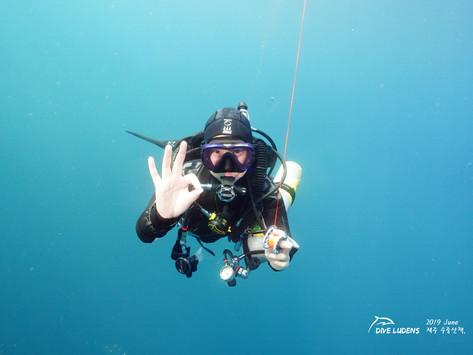 [2019 6월] 제주다이빙 - 6/28일 Deep Diving Log
