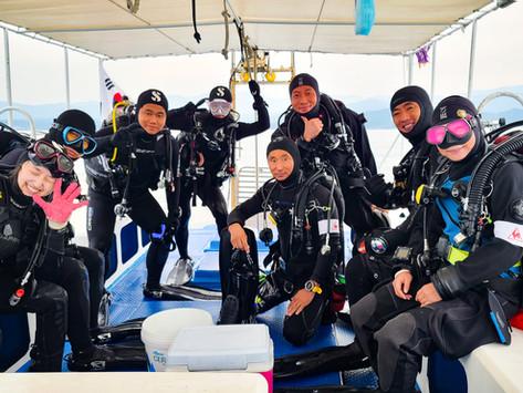 [2020년 9월] 강원도 양양 스쿠버다이빙 여행