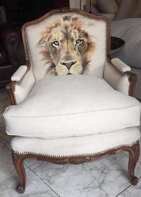 Personalizar tu sillon con tu animal interior!!! Pintado a mano!!