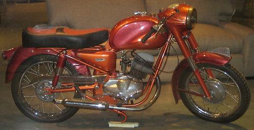 Ducati restaurado año 1955.