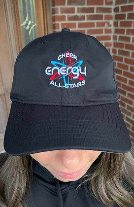 Cheer Energy Hat- Black