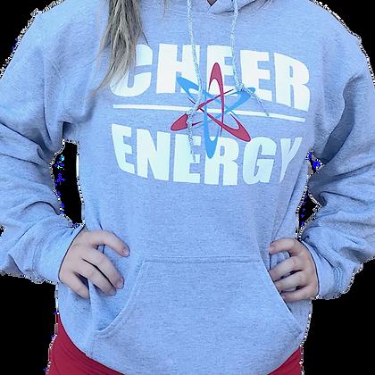 Cheer Energy Hoodie- Grey