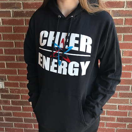 Cheer Energy Hoodie- Black