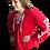 Thumbnail: Energy Lace Up Sweatshirt- Red
