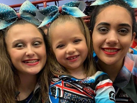 Action Packed Weekend for Cheer Energy!
