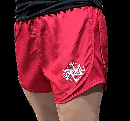 Red Running Shorts