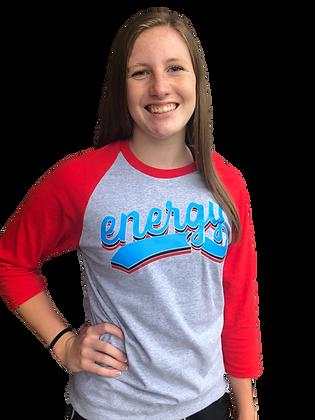 Energy Baseball Tee
