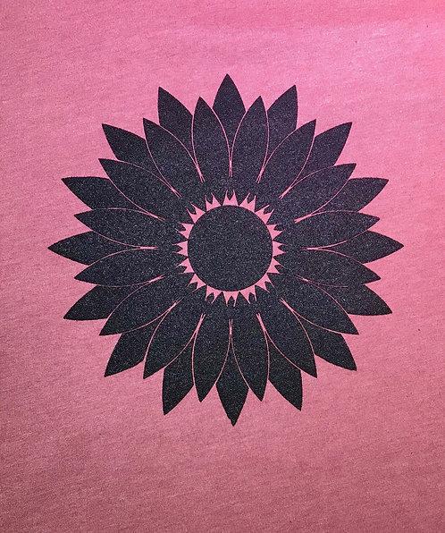 Sunflower Unisex Tee (Mauve)