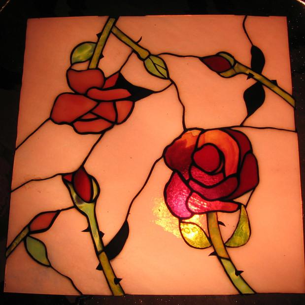 Rose Garden Roof for Psyche
