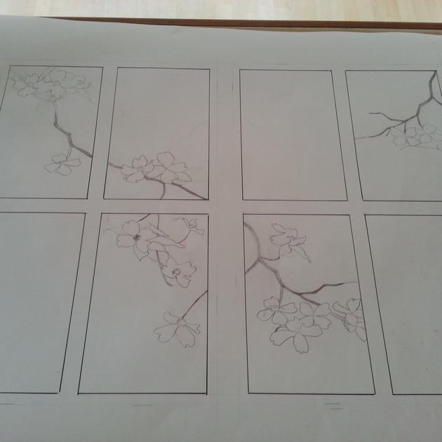 Dogwood Branch Sketch
